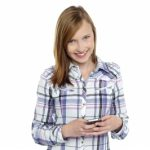Teen with Phone