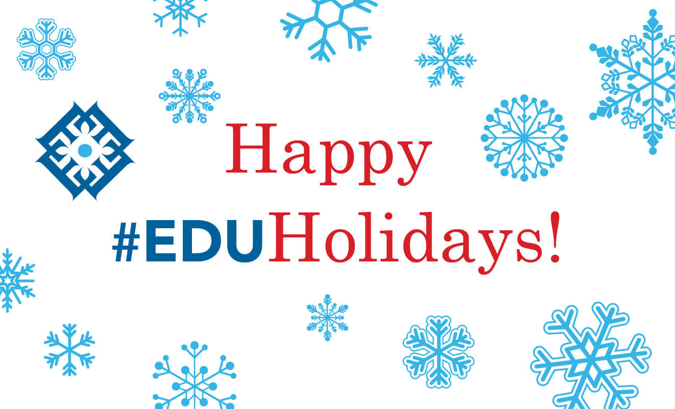 Happy #EDUholidays
