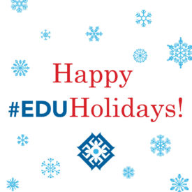 Share your 2016 #EDUholidays