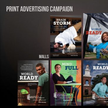 University of Mary Washington Print Advertising
