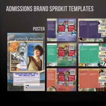 Shenandoah University Brand Sprokit Templates