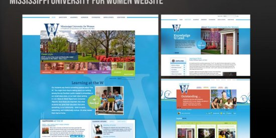 Mississippi University for Women Website