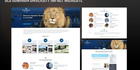 Old Dominion University Microsite
